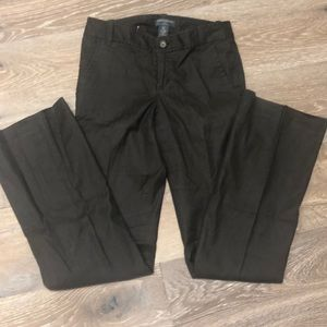 Banana Republic Brown Stretch Lined Trousers